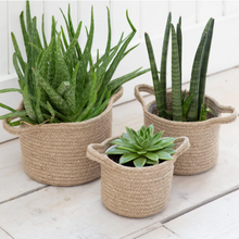 Load image into Gallery viewer, Woven Jute Plant Pots
