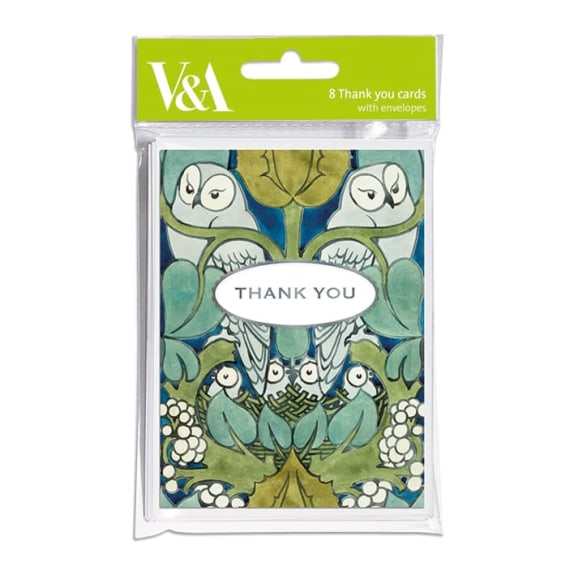 The  Owl - Pack of Thank you Cards