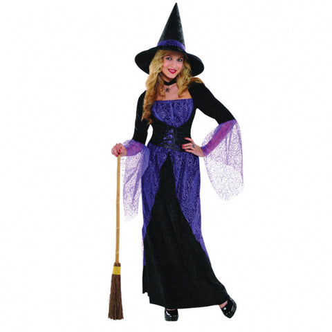Pretty Potion Witch, Adult Costume - Party Avenue Ltd