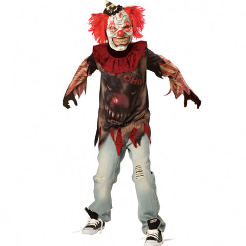Sideshow Clown, Halloween Costume - Party Avenue Ltd