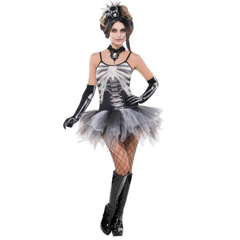 Black and Bone skeleton - Adult Costume - Party Avenue Ltd