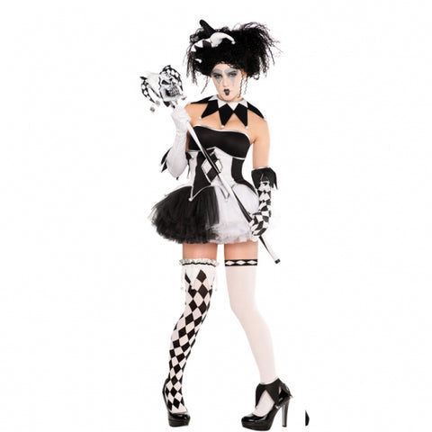 Tricksterina Clown, Halloween Costume - Party Avenue Ltd