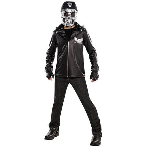 Bad to the Bone Skeleneton, Halloween Costume - Party Avenue Ltd