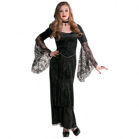 Gothic Temptress, Halloween Costume