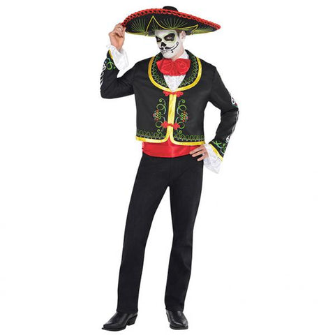 Day of the Dead Senor - Adult Costume - Party Avenue Ltd
