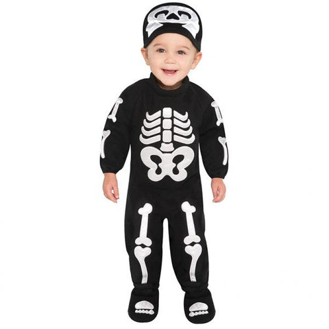 Bitty Bones skeleton - Babys Halloween - Party Avenue Ltd