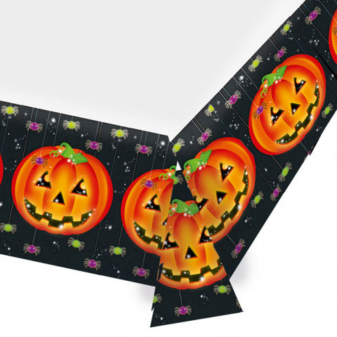 Perfect Pumpkin, Tablecover 1.37x2.59m - Party Avenue Ltd