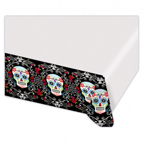 Day of the Dead, Table Cover 1.37x2.59m - Party Avenue Ltd
