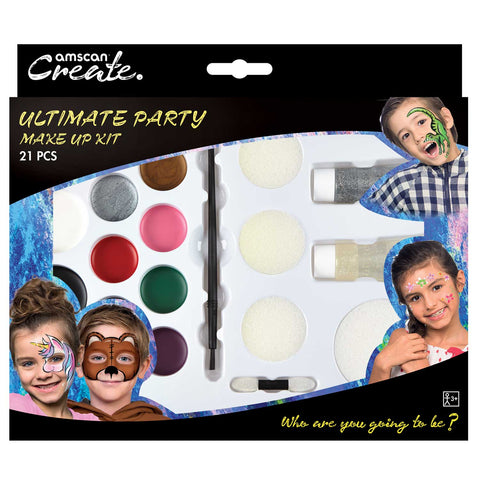 Ultimate Party Make up kit, Halloween Facepaints