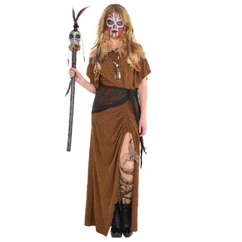 Witch Doctor Dress, Adult Costume - Party Avenue Ltd