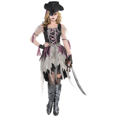 Haunted Pirate Wench, Adult Costume - Party Avenue Ltd