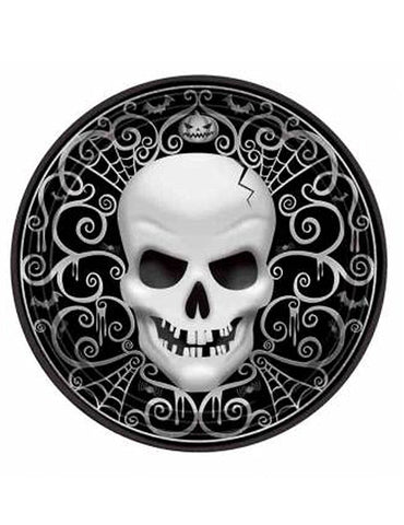 Fright Night Paper Plates 26.7cm 8pk - Party Avenue Ltd