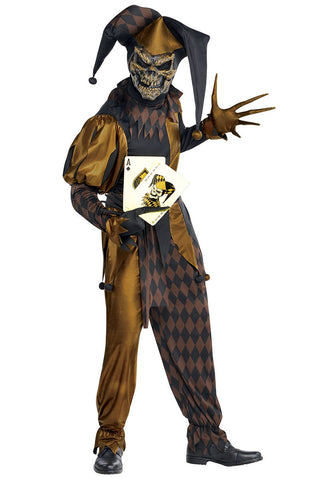 Jokers Wild skeleton - Adult Costume - Party Avenue Ltd
