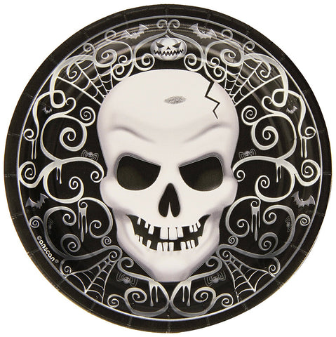 Fright Night Plates 17cm - Party Avenue Ltd