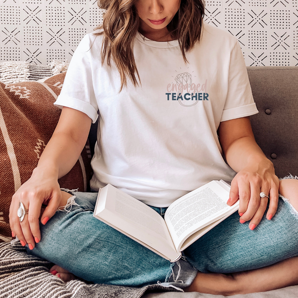 engaged teacher tee