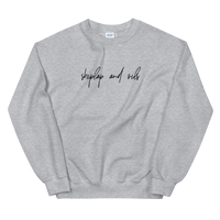 Shiplap and Oils Sweatshirt