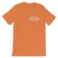 Fall in Love with Reading Pocket Tee - Orange
