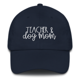 Teacher & Dog Mom hat