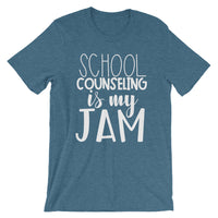 School Counseling is my Jam Short-Sleeve Unisex T-Shirt