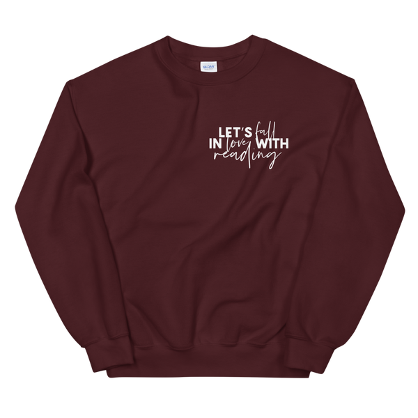 Fall in Love with Reading Sweatshirt