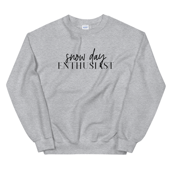 Snow Day Enthusiast Sweatshirt