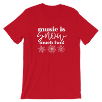 music is SNOW much fun!