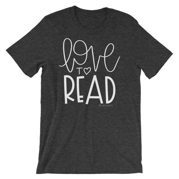 Love to Read Short-Sleeve Unisex T-Shirt