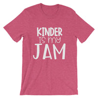 Kinder is my Jam (2nd Design) Short-Sleeve Unisex T-Shirt