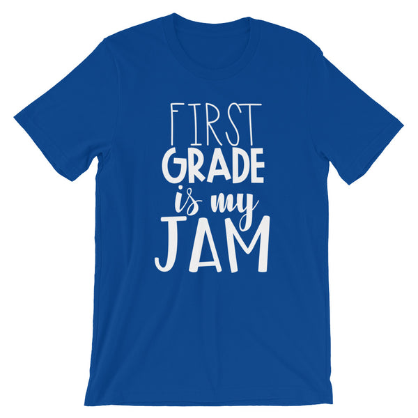 First Grade is My Jam (NEW Design) Short-Sleeve Unisex T-Shirt