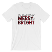 Merry & Bright Short-Sleeve Unisex T-Shirt