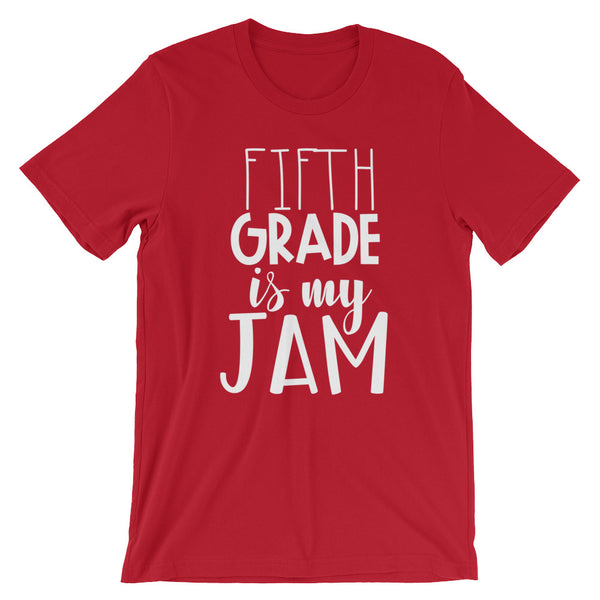 Fifth Grade is My Jam (NEW Design) Short-Sleeve Unisex T-Shirt