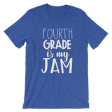 Fourth Grade is My Jam (NEW Design) Short-Sleeve Unisex T-Shirt