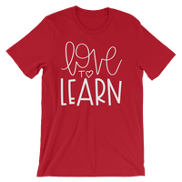 Love to Learn Short-Sleeve Unisex T-Shirt