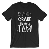 Seventh Grade is My Jam (NEW Design) Short-Sleeve Unisex T-Shirt