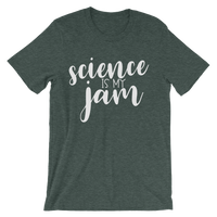 Science is My Jam Unisex short sleeve t-shirt