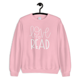 Love to Read Sweatshirt