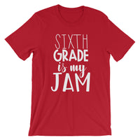 Sixth Grade is My Jam (NEW Design) Short-Sleeve Unisex T-Shirt