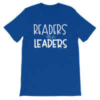 Readers are Leaders (2nd Design) Short-Sleeve Unisex T-Shirt