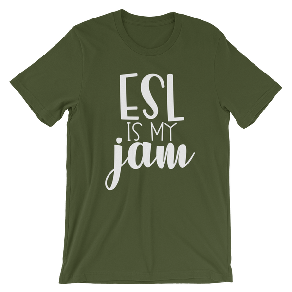ESL is my Jam! Short-Sleeve Unisex T-Shirt