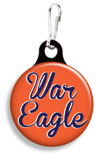 Auburn War Eagle - Fetch Life Pet Outfitters Dog & Cat Collar Clips