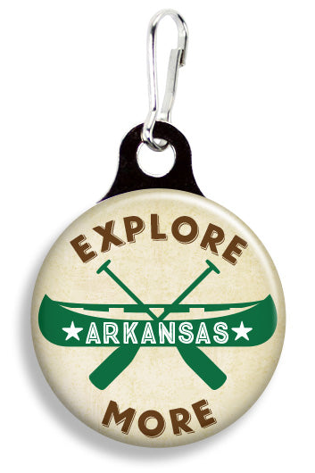 Explore More Arkansas - Fetch Life Pet Outfitters Dog & Cat Collar Clips