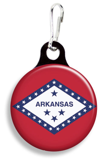 Arkansas Flag - Fetch Life Pet Outfitters Dog & Cat Collar Clips