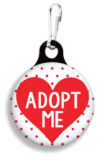 Adopt Me Heart - Fetch Life Pet Outfitters Dog & Cat Collar Clips