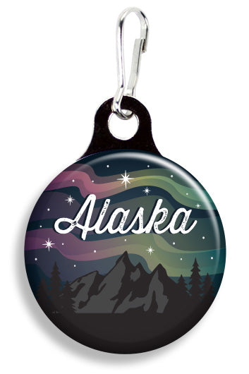 Alaska Northern Lights - Fetch Life Pet Outfitters Dog & Cat Collar Clips
