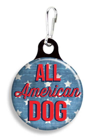 All American Dog - Fetch Life Pet Outfitters Dog & Cat Collar Clips