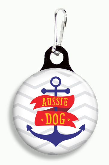 Aussie Anchor - Fetch Life Pet Outfitters Dog & Cat Collar Clips