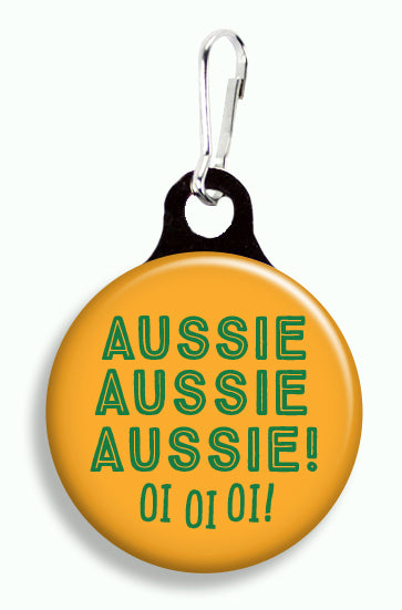 Aussie Aussie Aussie! - Fetch Life Pet Outfitters Dog & Cat Collar Clips