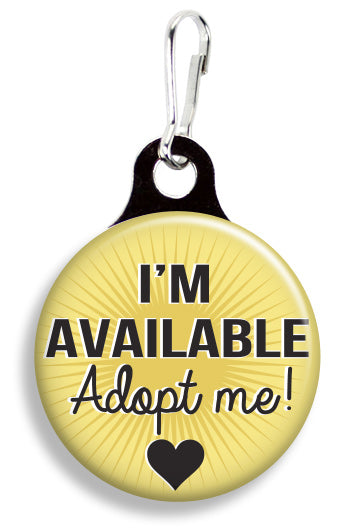 Adoption I'm Available - Fetch Life Pet Outfitters Dog & Cat Collar Clips