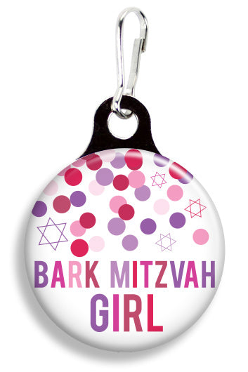 Bark Mitzvah Girl - Fetch Life Pet Outfitters Dog & Cat Collar Clips
