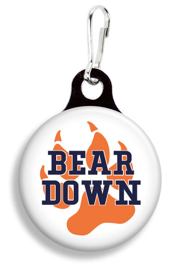 Chicago Bear Down - Fetch Life Pet Outfitters Dog & Cat Collar Clips